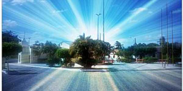 Itaipaba-CE-Centro do distrito-Foto:Facebook