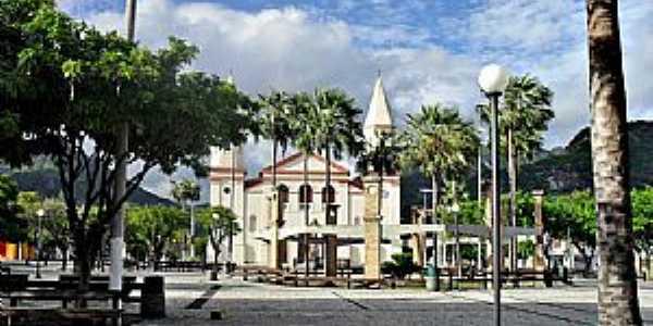 Itapipoca-CE-Praça da Matriz-Foto:WLuiz
