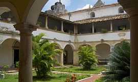 Penedo - Penedo-AL-P�tio interno da Igreja e Convento N.Sra.dos Anjos-Foto:Vin�cius Antonio de Oliveira Dittrich
