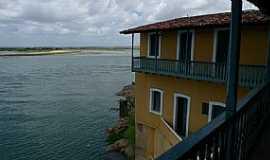 Penedo - Penedo-AL-Vista do Passo Imperial e o Rio São Francisco-Foto:Charles Northrup