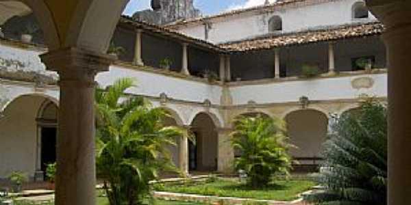 Penedo-AL-P�tio interno da Igreja e Convento N.Sra.dos Anjos-Foto:Vin�cius Antonio de Oliveira Dittrich