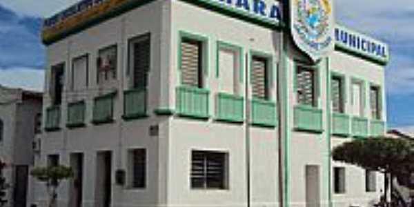 Jaguaretama-CE-Câmara Municipal-Foto:Karl Max Fernandes Freire