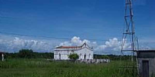 Jaguaretama-CE-Capela em área rural-Foto:jose moreira silva Moreira