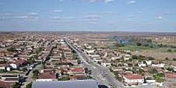 Jaguaretama-CE-Vista da cidade-Foto:www.estradasbrasil.com