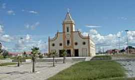 Jaguaribara - Igreja Matriz foto  José Wagner Vasconcelos