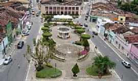 Pilar - Vista da Praça central de Pilar-Foto:Sergio Leal postada por OPA_AL