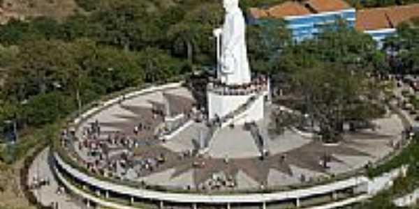 Monumento à Padre Cícero em Juazeiro do Norte-CE-Foto:www.fotoaereabrasil.…