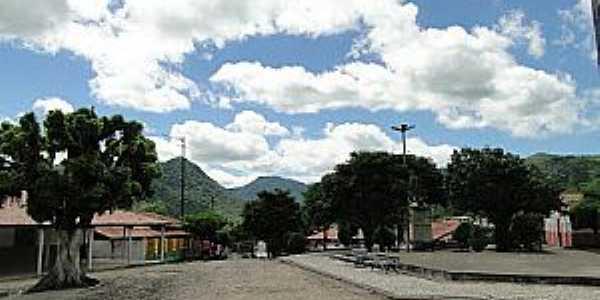 Jubaia-CE-Centro do distrito-Foto:CLAYTON MENEZES