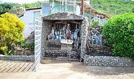 Jucás - Jucás-CE-Gruta de Padre Cícero-Foto:jucas.ce.gov.br