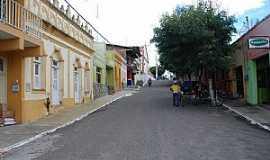 Jucás - Jucás-CE-Rua no centro-Foto:LedoLoko