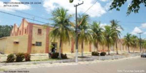 Antiga Usina de Beneficiamento de Algod�o, Por Terezinha Cavalcante