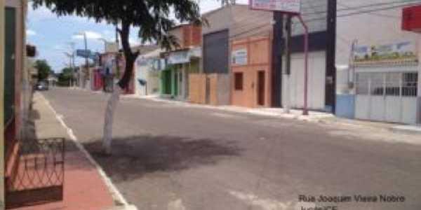 Rua Joaquim Vieira Nobre, Por Terezinha Cavalcante