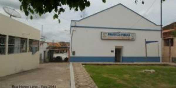 BIBLIOTECA ORMECINDA LEITE - CENTRO, Por TEREZINHA CAVALCANTE