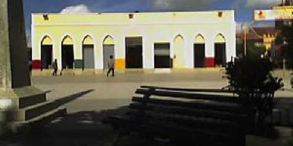 Jucás-CE-Antigo Mercado-Foto:cidade-brasil.com.br