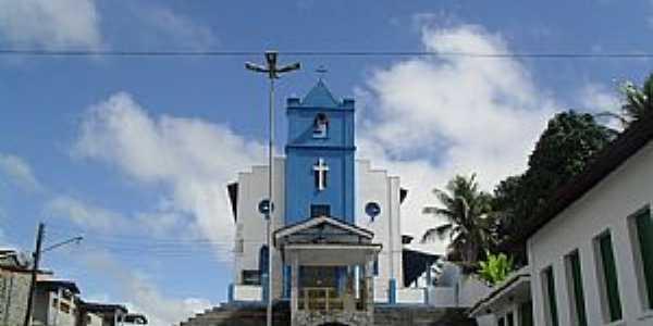 Pindoba-AL-Igreja de São Sebastião-Foto:Sergio Falcetti