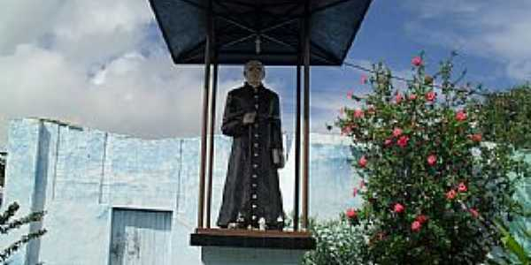 Pindoba-AL-Imagem em homenagem à Padre Cícero-Foto:Sergio Falcetti