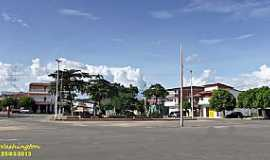 Lagoa do Mato - Lagoa do Mato-CE-Praça no centro da cidade-Foto:WLuiz