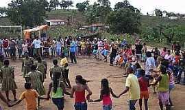 Lagoa dos Crioulos - -CE-Cultura da Comunidade Quilombola-Foto:comandodopovopb.blogspot-postado por Bibiu do Jatobá