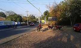 Lameiro - Lameiro-CE-Entrada do Distrito-Foto:Rudy Alencar