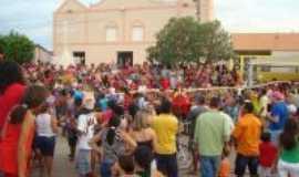 Lavras da Mangabeira - levantamento da bandeira mangabeira, Por SANDRA FELIX DE SOUSA
