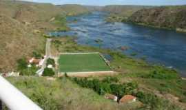 Piranhas - campo de futebol em Piranhas. Por CARLOS ROGÉRIO HOTT