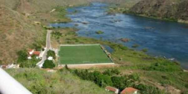 campo de futebol em Piranhas. Por CARLOS ROGÉRIO HOTT