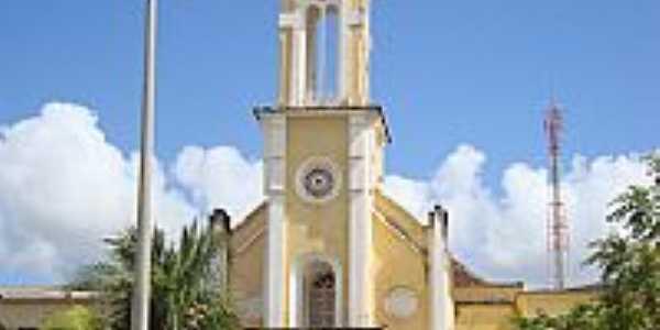 Capela na cidade de Limoeiro do Norte-Foto:Zemakila