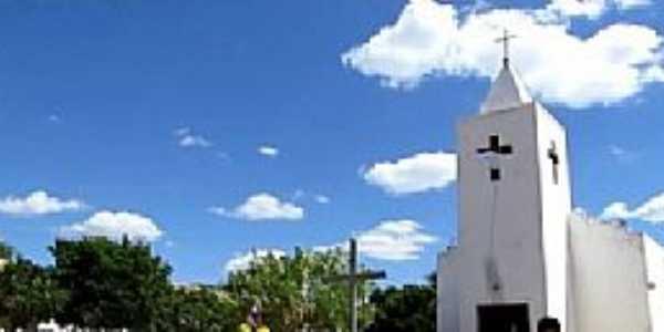 Logradouro-CE-Igreja do Santo Antônio de Pádua-Foto:Paróquia São Gonçalo do Amarante-Umari-CE