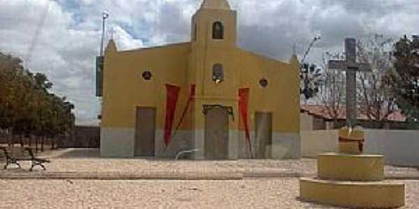 Macambira-CE-Igreja de Santa Luzia-Foto:geoview.info
