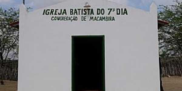 Macambira-CE-Igreja Batista-Foto:gilmar frança