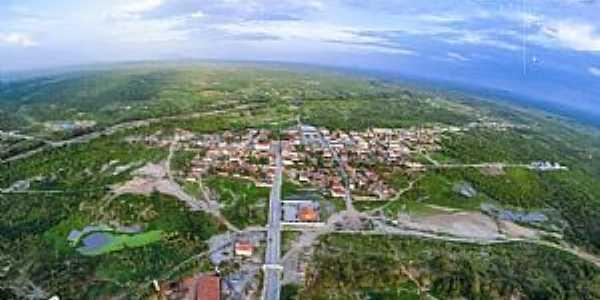 Macaraú-CE-Vista aérea da cidade-Foto:macaraunoticias.com.br