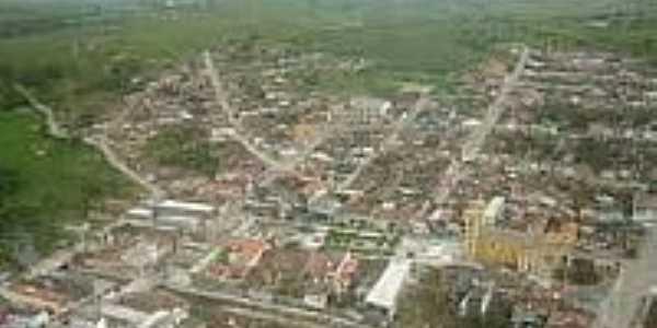 Vista aérea de Poção-AL-Foto:folhape.