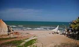 Majorl�ndia - Chegando na praia de Majorl�ndia-CE-Foto:nimra mhad