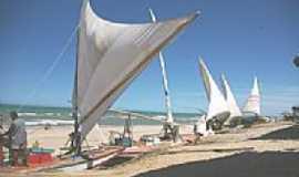 Majorl�ndia - Veleiros na praia em Majorl�ndia-CE-Foto:nimra mhad
