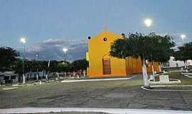 Malhada Grande - Malhada Grande-CE-Praça e Capela de São João Batista-Foto:Facebook