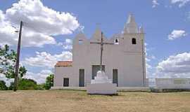 Manituba - Manituba-CE-Cruzeiro em frente a Igreja-Foto:Facebook