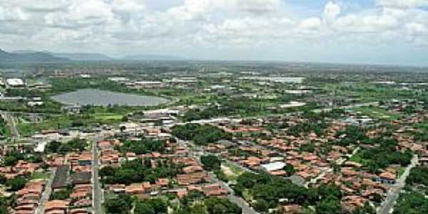 Vista a�rea de Maracana�, CE - por Florencio Queiroz