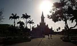 Marco - Praça da Matriz em Marco-CE-Foto:Ivo Dias