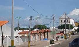 Marrecas - Marrecas-CE-Centro após a festa-Foto:Alex Caracas