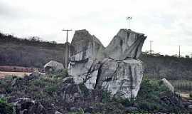 Marrecas - Marrecas-CE-Entrada do Povoado-Foto:WLuiz