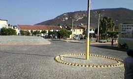 Marruás - Marruás-CE-Praça central do Distrito-Foto:Fabiano Linhares