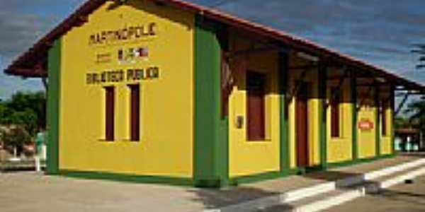Antiga Estação de Trem, hoje Biblioteca Pública-Foto:THIAGO13SS
