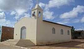 Poço das Trincheiras - Igreja no Povoado Alto Tamanduá em Poço das Trincheiras-Foto:Sergio Falcetti