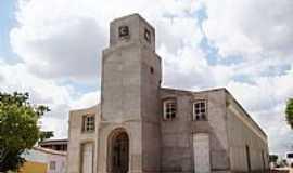 Poço das Trincheiras - Matriz de São Sebastião em Poço das Trincheiras-Foto:Vicente A. Queiroz