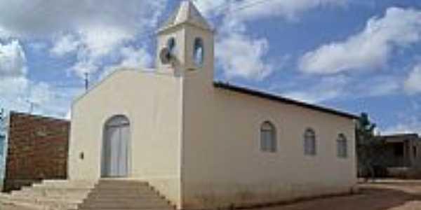 Igreja no Povoado Alto Tamanduá em Poço das Trincheiras-Foto:Sergio Falcetti