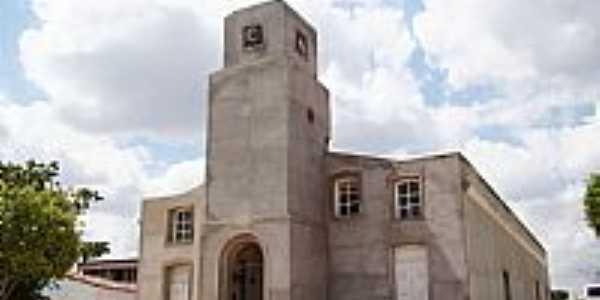 Matriz de São Sebastião em Poço das Trincheiras-Foto:Vicente A. Queiroz