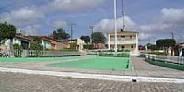 Praça na Rua Santa Marta em Poço das Trincheiras-Foto:Sergio Falcetti
