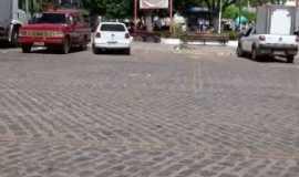 Mauriti - Frente da pra�a central de muriti - Por Wegila rocha