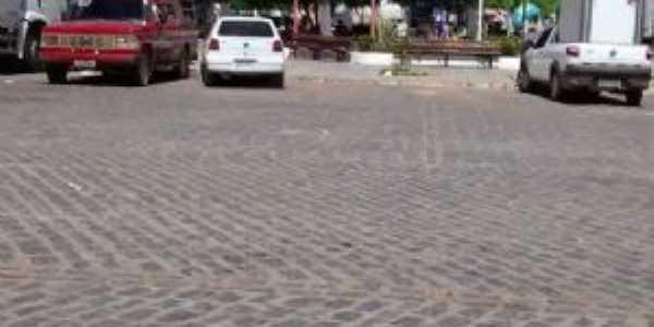 Frente da praça central de muriti - Por Wegila rocha