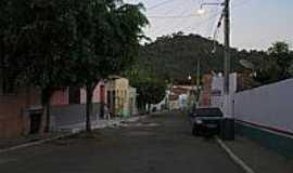Meruoca - Rua Monsenhor José Furtado em Meruoca-Foto:Ivo Dias